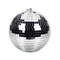 Silver Disco Ball - 20cm