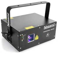 Professional DJ Club Laser Light DMX FULL COLOUR 1.6W Output Pandora 1600 TTL
