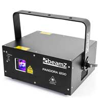 BeamZ Professional Pandora 1200 TTL RGB Laser Light