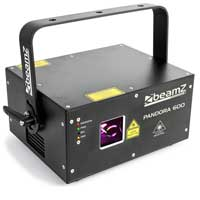 BeamZ Professional Pandora 600 TTL RGB Laser Light