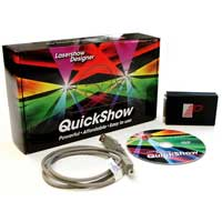 Pangolin Quickshow Flashback Full Laser Lighting Control Software ILDA DMX DJ
