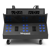 BeamZ SB2000LED Smoke & Bubble Machine with 5L UV Fluid Set