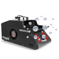 Beamz SB1500LED RGB Smoke & Bubble Machine