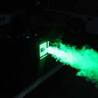 BeamZ S2500 Smoke Machine with LED Lights & 5L Eco Fluid