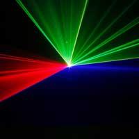 BeamZ Ariel Red Green Blue DMX Laser