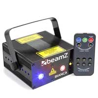 BeamZ Bianca Double Red Green Blue Laser