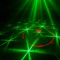 BeamZ Cupid Double Red Green DMX Laser