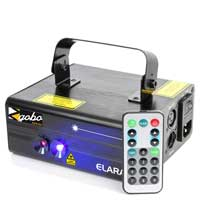 BeamZ Elara Double Red Blue DMX Laser