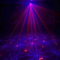 BeamZ Elara Double Red Blue DMX Laser