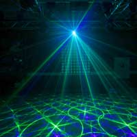 BeamZ Anthe II Double Red Green Blue DMX Laser