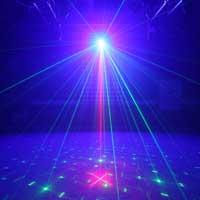 BeamZ Surtur II Double Red Green DMX Laser