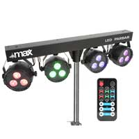 Max ParBar LED Party Lighting Stand