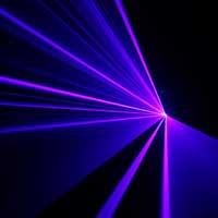 BeamZ Prospero II Blue DMX Laser