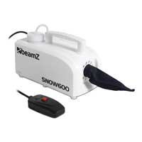 BeamZ SNOW600 Snow Machine with Remote Control