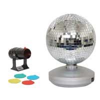 Cheetah G007BB 20cm Mirror Ball Party Light Set