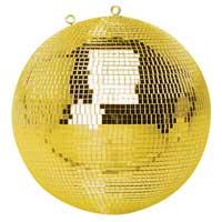 Gold Glitter Mirror Ball - 50cm
