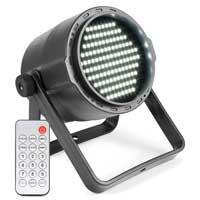 BeamZ PLS15 Battery LED Strobe Light DMX 6500K with Remote