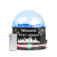 BeamZ PLS10 LED Disco Jellyball Light with Bluetooth Speaker