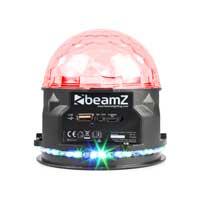 Beamz PLS10 Jellyball Light & Bluetooth Speaker USB Rechargeable LED