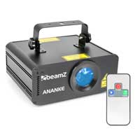 Beamz 152.798 Ananke 3D DMX RGB Laser Light 600mW