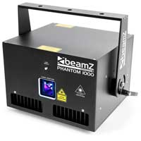 BeamZ Professional Phantom 1000 DJ Laser Light