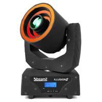 Beamz Professional Illusion II Moving Head 3 LED Ring Light