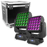 BeamZ Professional Matrix55 Moving Head Light with Flightcase