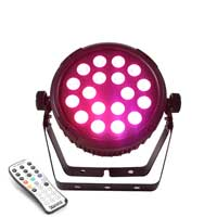 Beamz BT320 LED Flat Par 18x6W 4-in-1 RGBW