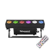 BeamZ BBB612 Battery LED Light Bar