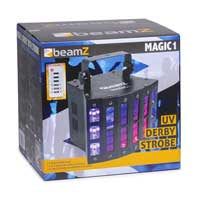 BeamZ Magic1 Derby with UV Disco Party Light