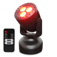Fonestar MOV-12L LED Moving Head Light with 3 RGBW LED