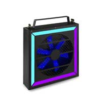 BeamZ Professional LED Twister 400 Fan RGB DMX Light