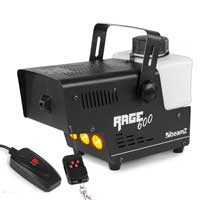 BeamZ Rage 600LED Smoke Machine with Lights