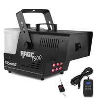 BeamZ Rage1500LED Smoke Machine with Lights