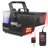 BeamZ Rage1500LED Smoke Machine with Lights