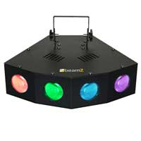 BeamZ Mini 4 Head Moon LED DJ Light