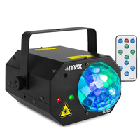 Max DJ10 LED Disco Ball & Laser Party Light