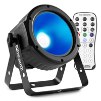 BeamZ COB30RGB LED Flat PAR Can Light