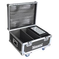 BeamZ Professional FL2 Light Flight Case, Star-Color 240/360