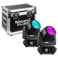BeamZ Fuze75B Moving Head Lights with Flightcase