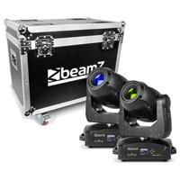 BeamZ Professional IGNITE180 Moving Head Lights with Flightcase