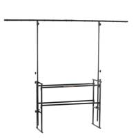Athletic  DJ-4T DJ Deck Stand with Lighting T-Bar 4ft