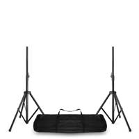 Vonyx Adjustable Speaker Stands with Transport Bag