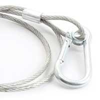 BeamZ Metal Disco Lighting Safety Wire 10kg, Set of 3