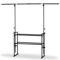 Vonyx Lighting T-Bar DJ Stand 4ft
