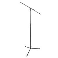 NJS066A Professional Boom Microphone Mic Stand Adjustable Height Foldable Tripod