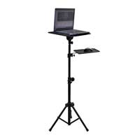 Soundlab G001DD Adjustable Tripod Laptop Stand with Mouse Shelf