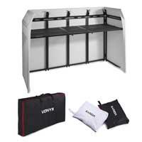 Vonyx 180.053 DB5 Pro DJ Aluminum Booth Large 2.0m