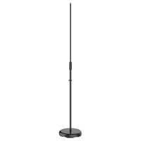 Vonyx MS100B Microphone Stand Adjustable - Black