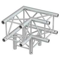 Beamz Professional 182.338 50cm P30-C30 Square 3-Way Truss Corner 90 Degrees